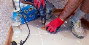 Чем сверлить керамогранит в домашних условиях