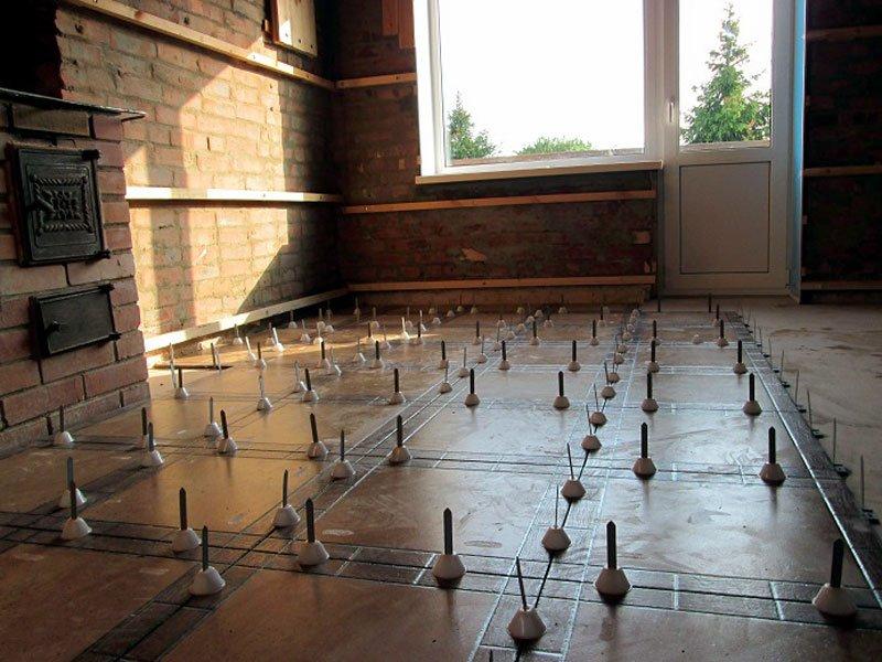 Использование Rubi Tile Level для напольной плитки