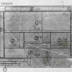 Схематичная раскладка черного мрамора
