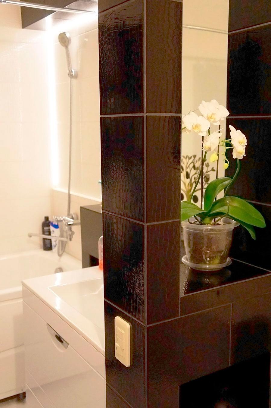 Укладка плитки в ванной:этапы, советы, фото идеи 10