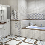 Облицовка нестандартной ванной комнаты