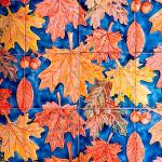 Рельефный рисунок «Листопад»