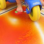 Интерактивное покрытие в детской