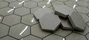 Шестиугольная промышленная плитка Argelith (Германия).