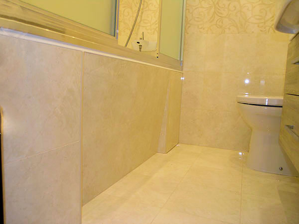 Ректификат 30х90 см в стандартной ванне 170х170 см.