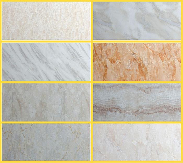 Полуматовый бельгийский Mostflooring (33 уровень) выполнен под мрамор. В коллекции несколько оттенков и сортов природного камня. Отсутствие фаски гарантирует влагостойкий стык. Гарантия производителя в 25 лет стоит около 1200 рублей за квадратный метр.