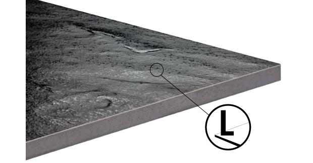 Грани ректифицированной плитки проходят дополнительную механическую обработку.