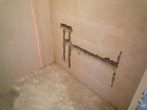 Правила укладки плитки в ванной