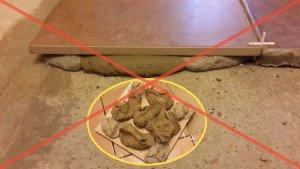 Не пренебрегайте выравниванием поверхности перед укладкой.