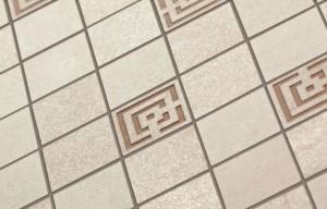 Мозаичный керамогранит Meissen Keramik Daino (Германия), 2100 р/м². Размер 44.6х22.2 см.