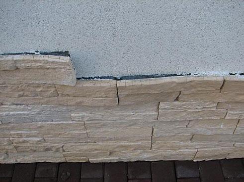 Гипсовая плитка на фасаде разрушится уже через 1 год.