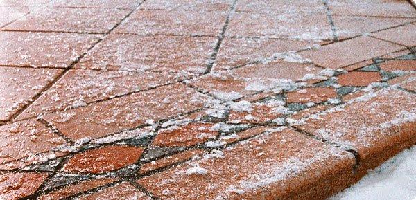 морозоустойчивость клинкерных ступеней